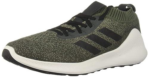 the latest 94a6b 2aed6 adidas Men s PureBounce+ Running Shoe, Base Green Black Night Cargo 6.5 ...