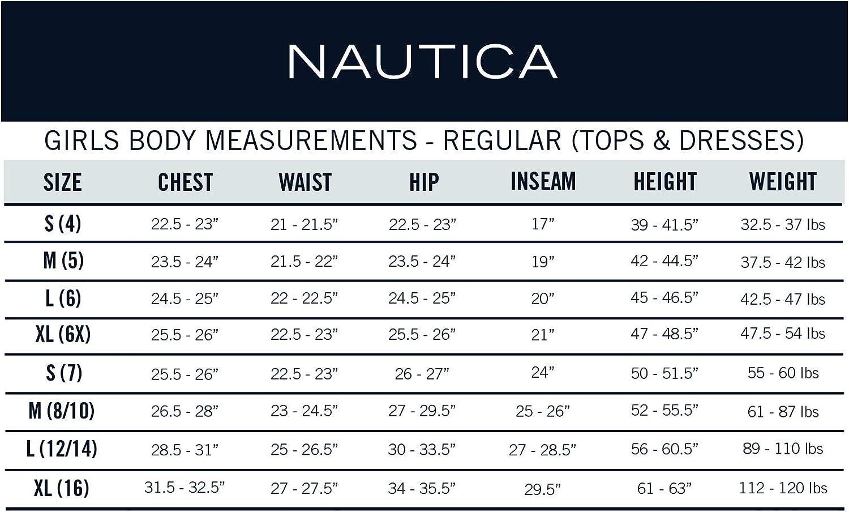 Nautica Girls Long Sleeve Polo