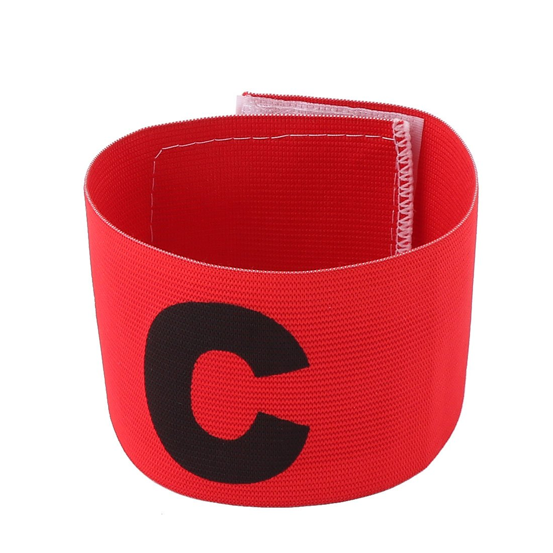 Obvious Symbol Nylon Captain Armband Red for Fooball Soccer Game a13052200ux0973