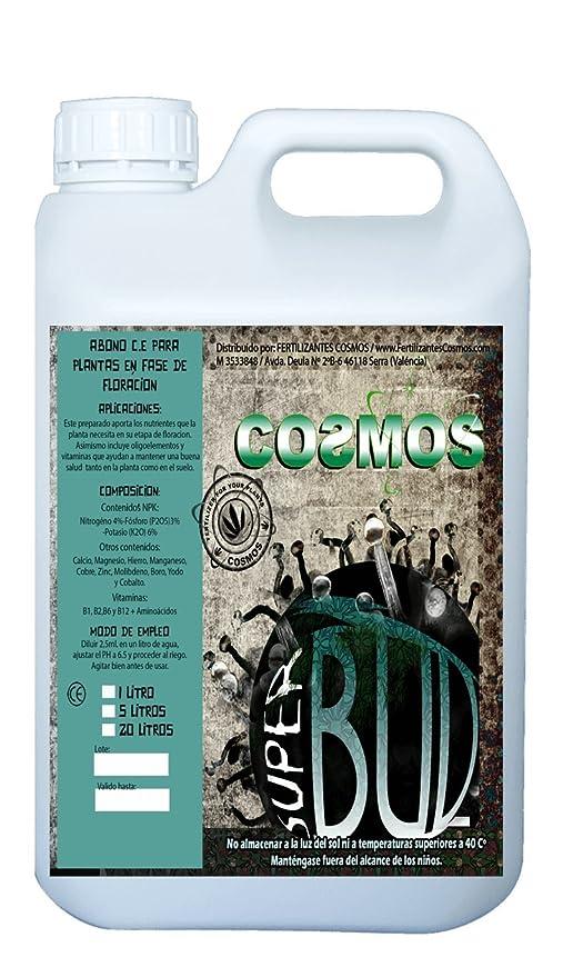 Fertilizante para la floración Super Bud 5L