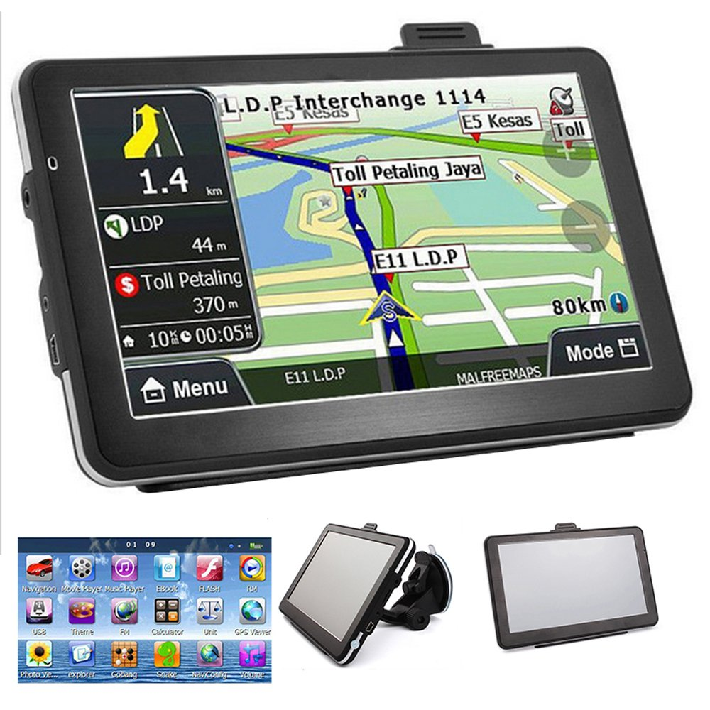 Updating built in car navigation