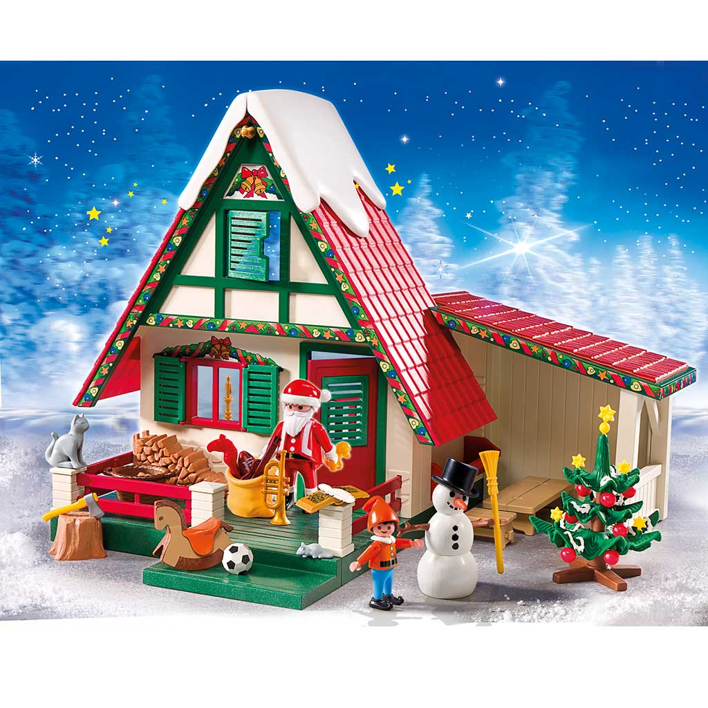 Playmobil santa 39 s home toys games for What is a shouse house