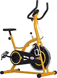 HOMCOM Bicicleta Estatica Bici Fitness Spinning MAX 120 Kg ...