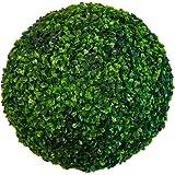 "Ranka 19"" Artificial Boxwood Topiary Ball - Large - Indoor/outdoor"
