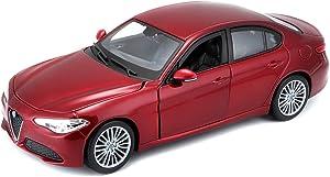 Bburago BURAGO BU21080R ALFA Romeo Giulia 2016 RED 1:24 MODELLINO DIE CAST Model