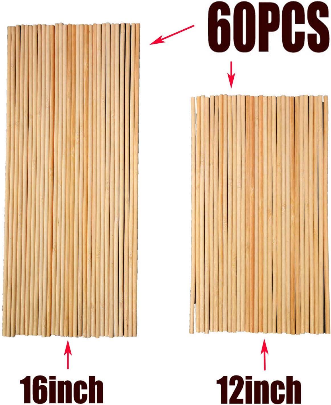 3//16 Diameter 20-Piece Handi Craft Dowel Pack 12 Length