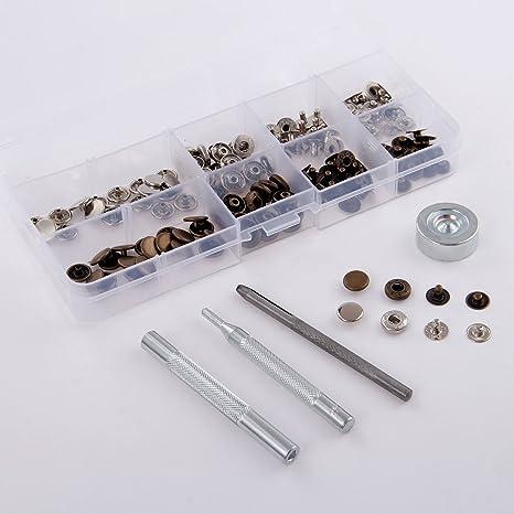 40 conjuntos DIY de coser botones botón cierre para bolsas de ...