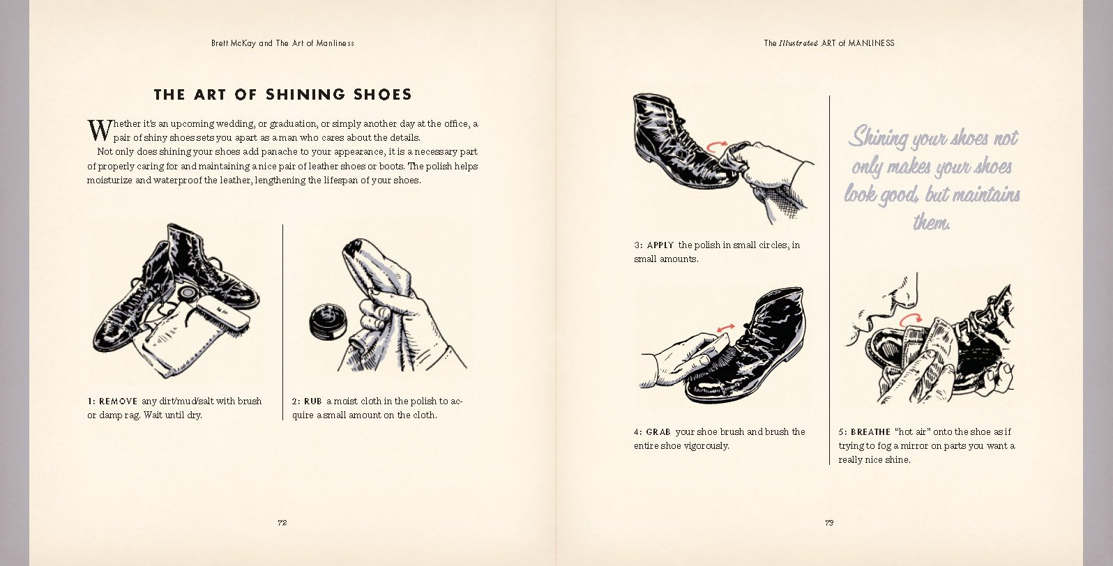 the illustrated art of manliness the essential how to guide