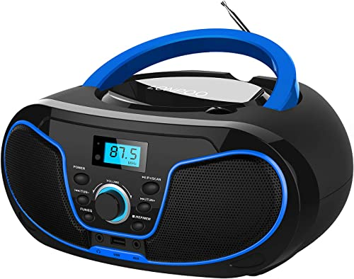 LONPOO CD Player Portable Boombox review