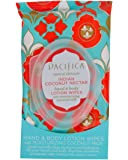 Pacifica Hand & Body Lotion Wipes - Indian Coconut Nectar -- 30 Towelettes