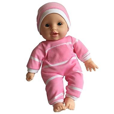 11 inch Soft Body Doll in Gift Box - 11  Baby Doll (Caucasian)