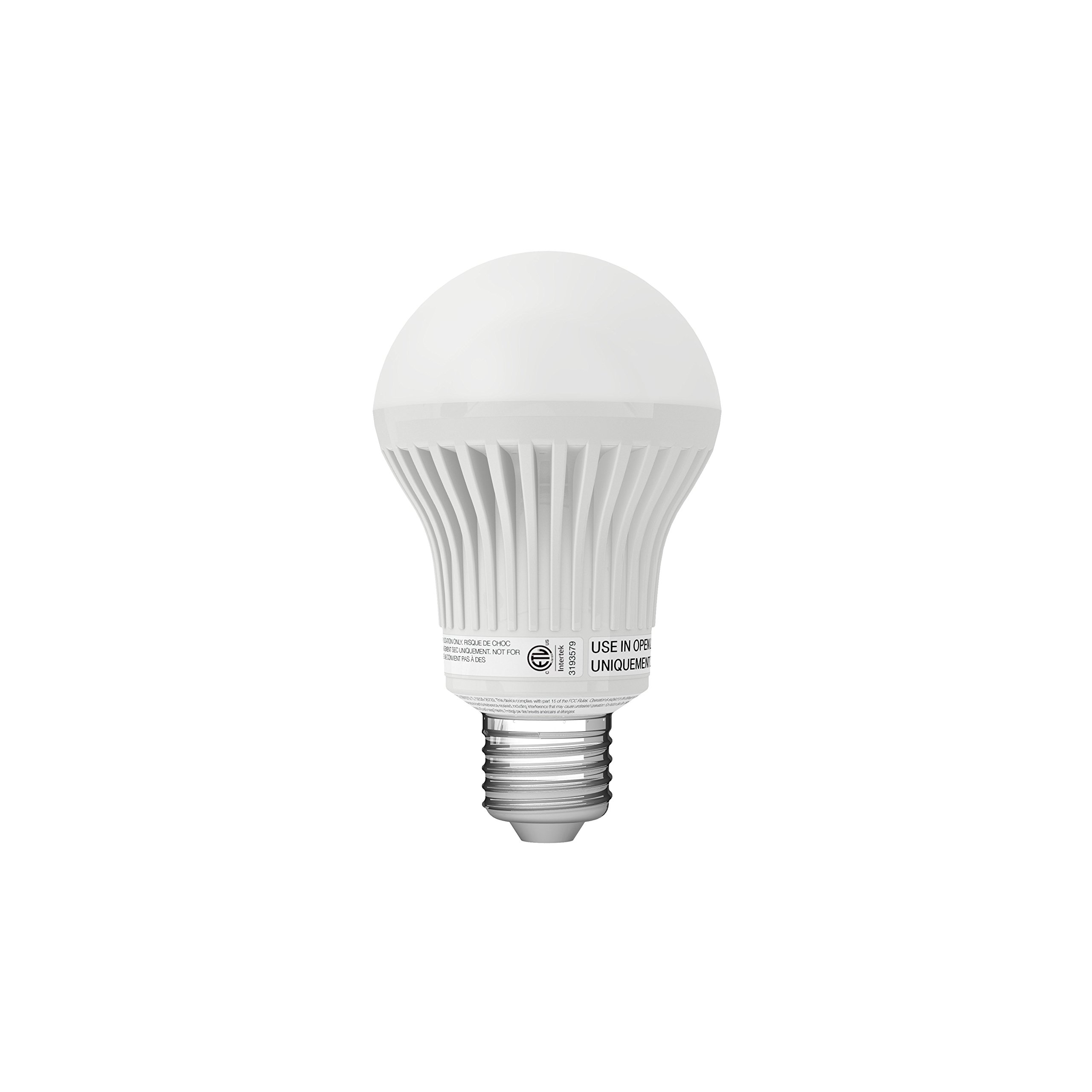Insteon Smart Dimmable LED Light Bulb (A19), Works with Alexa via Insteon Bridge, 8W (60W equivalent) Warm White, Uses Superior Dual-Mesh Wireless Technology for Unbeatable Reliability - Better than Wi-Fi, Zigbee and Z-Wave by Insteon (Image #1)
