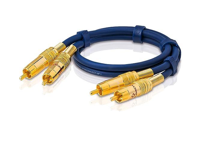 Oehlbach 2035 - Cable cinch: Amazon.es: Electrónica