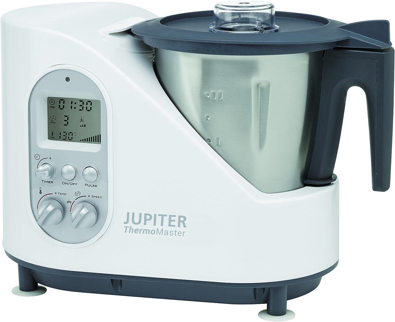 Jupiter Thermomaster - Robot de cocina (2 L, Negro, Acero ...