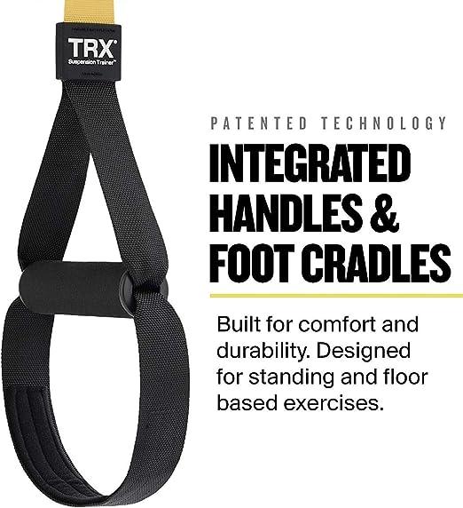 Paquete de entrenamiento en el hogar todo en uno TRX: Incluye entrenamiento en suspensión todo en uno, de interior