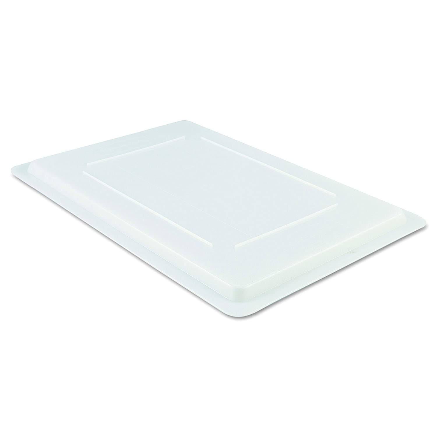 Rubbermaid Commercial 3502WHI Food/Tote Box Lids, 26 w x 18 d, White