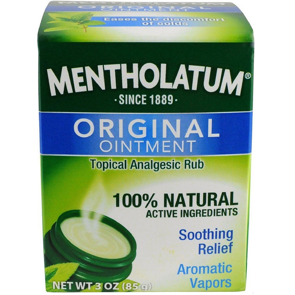 Mentholatum Ointment Topical Analgesic Rub 3 oz. (3-Pack)