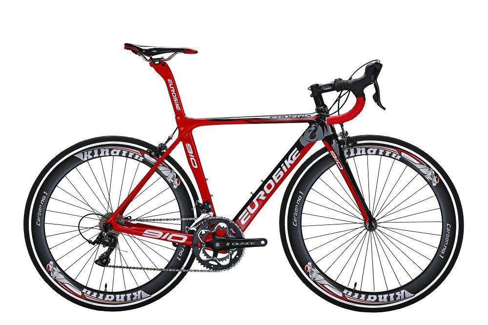 TSM910 50 Cm Carbon Fiber Frame Road Bike 18 Speed 700C Road Bicycle