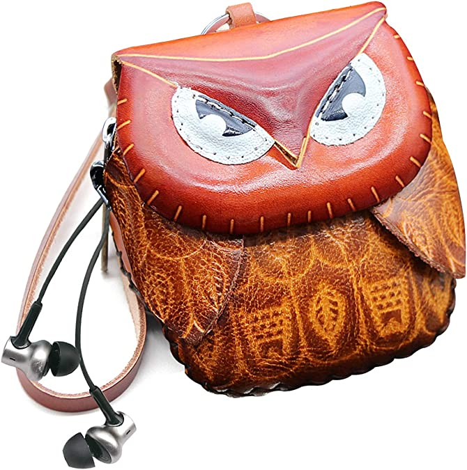 AVERY Coin Purse OWL VIETA CN1760OW BLACK