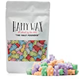 Happy Wax Spa Day Mix, Scented Soy Wax Melts - 8 Oz. Wax Melts Variety Bag - Over 200 Hours Burn Time! [Lavender Chamomile, Fresh Bamboo, Eucalyptus Spearmint]
