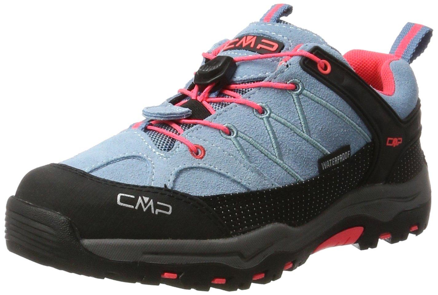 CMP Unisex-Erwachsene Rigel Niedrig Wp-3Q13244 Trekking- Fluo) & Wanderschuhe, Türkis (Clorophilla-ROT Fluo) Trekking- 5f2bee