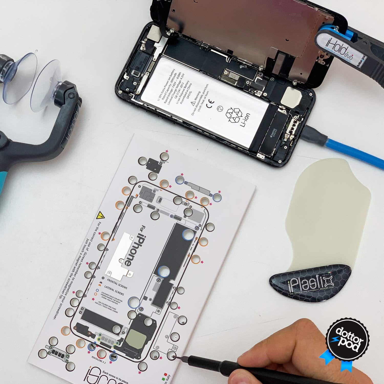 DottorPod iSesamo/® Plus Mini iSesamo: Herramienta Esencial para Abrir y Reparar Compatible con iPad Tableta iPhone tel/éfono Inteligente
