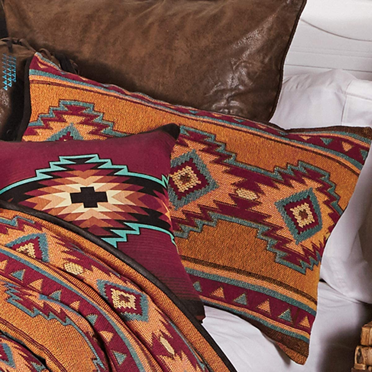 BLACK FOREST DECOR Mojave Sun Woven Sham