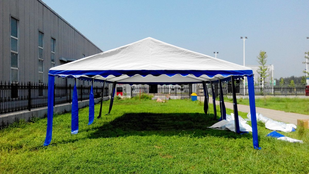 Amazon American Phoenix Canopy Tent 15x30 Foot Large White Party Gazebo Commercial Fair Shelter Car Wedding Events Heavy Duty