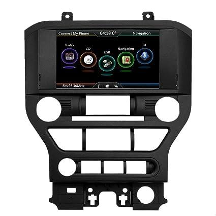 Qiilu 2 DIN 8'' 720P Upgrade HD Car DVD Player GPS Nav Multimedia Stereo  HUD Display Screen Video & Audio Player Receiver Windows CE 6 0 Sync System