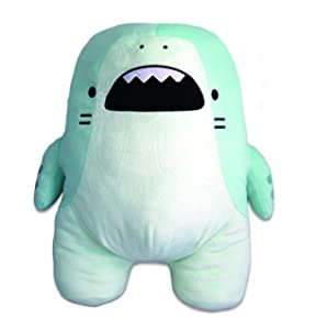CLEVER IDIOTS INC SAMEZU Plush XL Stuffed Animal Shark - Cute, Collectable and Cuddly Toy Character - Ultra-Soft Polyester Fabric - Authentic Japanese Kawaii Design - Premium Quality (Tiger)