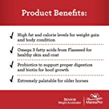 Manna Pro Senior Weight Accelerator for Horses, 8