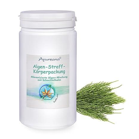 ayur Sana – Algas de straff de cuerpo paquete – Algas mezcla Pajita con caja y