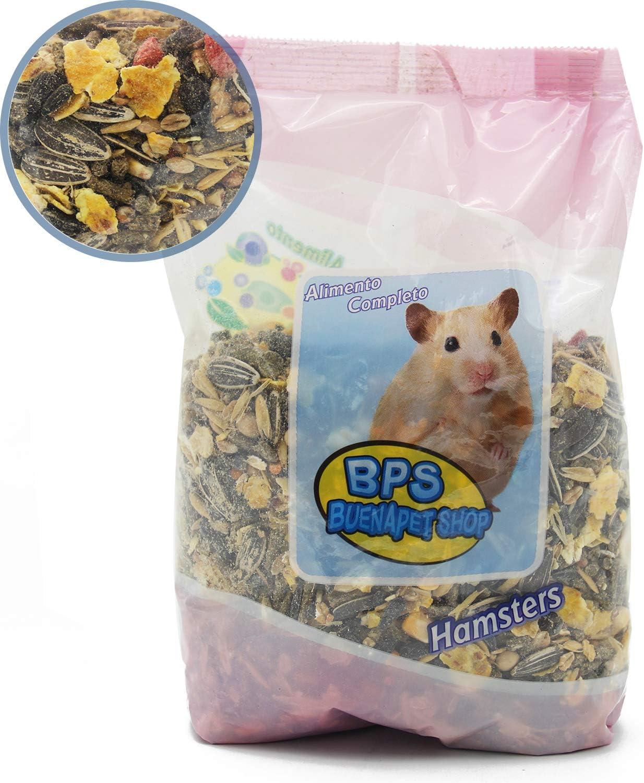 BPS Pienso Hámster Alimento Completo Comida con Formula Alta Energía 700g BPS-4030