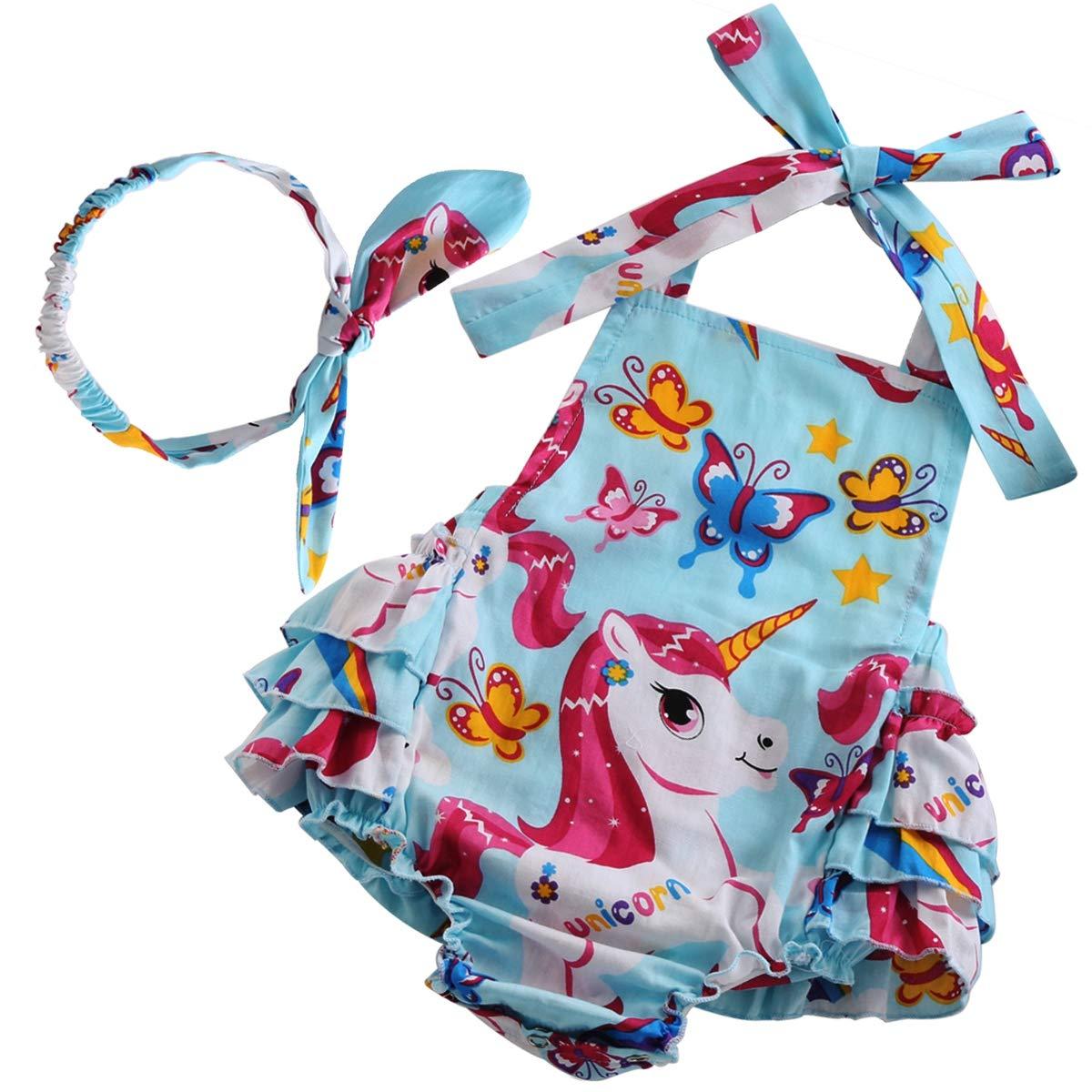 PrinceSasa Newborn Size Clothes Baby Girl Ruffle