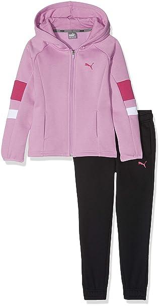 PUMA – Chándal para niña Hooded Sweat Suit g, Niñas, 851845 ...