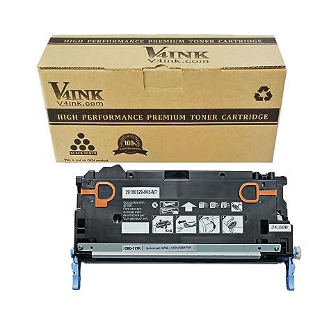 Amazon. Com: v4ink new compatible q6470a canon 117 black toner.