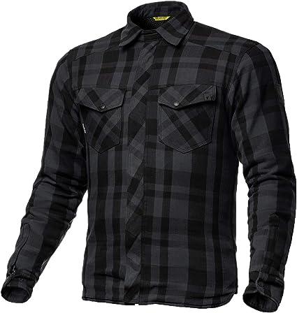 SHIMA RENEGADE BLACK, Camisa de franela de motocicleta para hombres con protectores (Negro, XS): Amazon.es: Coche y moto