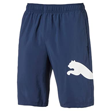 9e996d812b9d PUMA Men s Ess Big Cat Woven Shorts 10 quot  Ss