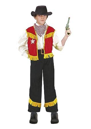 FIORI PAOLO - Disfraz vaquero niño M (5-7 anni) multicolor: Amazon ...