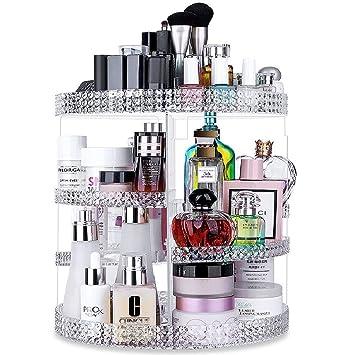 Amazon.com: Awenia - Organizador de maquillaje giratorio de ...