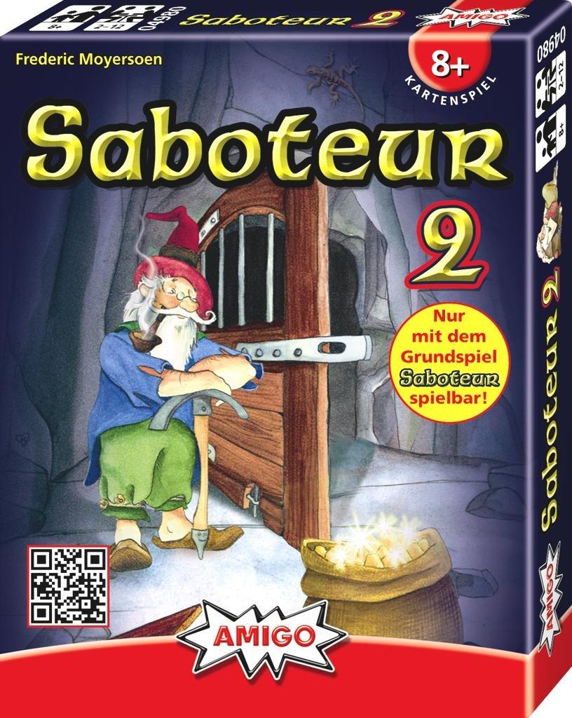 """Amigo 4980 """"Saboteur 2"""" Game"""