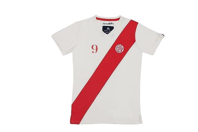 Coolligan - Camiseta de Fútbol Retro 1901 Millonarios - Color - Blanco - Talla - XXL: Amazon.es: Ropa y accesorios