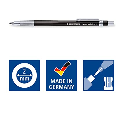 Staedtler Mars Technico 780 C-9 2mm Leadholder (Limited Edition) Black