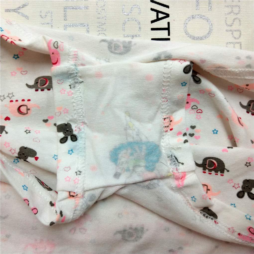 Toddler Girls Hipster Panties Elephant Bunny Boyshort Undies Set Pack of 4