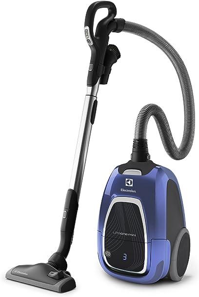 Electrolux UMORIGIN - Aspirador sin bolsa, ultra compacto, color azul metálico y plateado: Amazon.es: Hogar