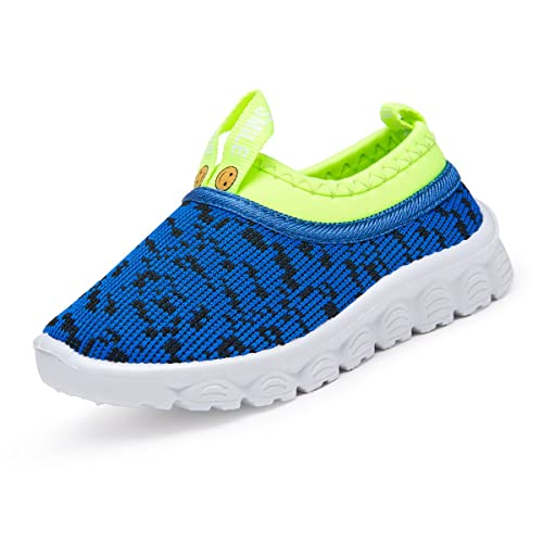 7394e8d3e5cb44 R V Kids Boy Girl Shoes Flats Breathable Mesh Light Weight Slip-on Sneakers  for Walking