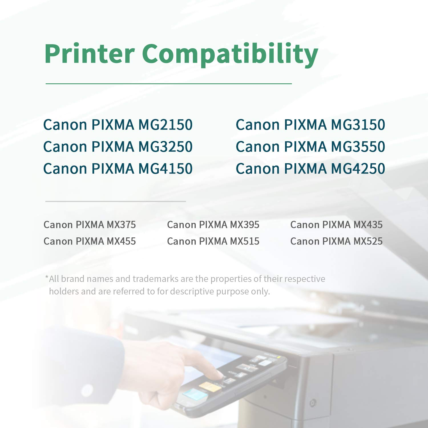 ZIPRINT Compatible Canon PG-540XL CL-541XL Cartucho 2 ...