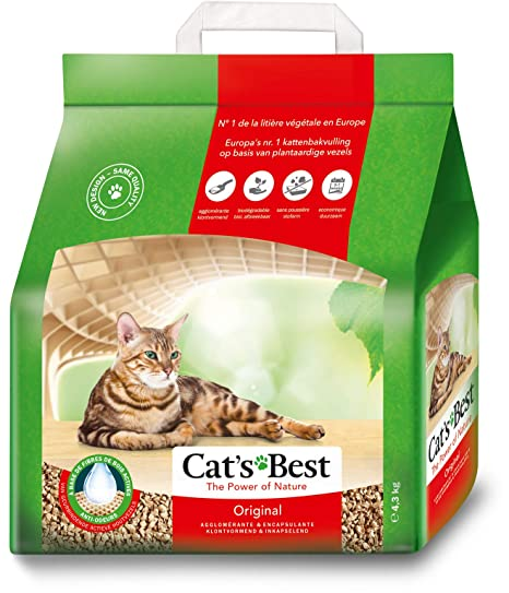 Cats Best Lecho para gatos Öko Plus, 10L (4.3 kg)