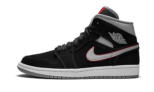 on sale 3a18e f4292 Nike Air Jordan 1 Mid, Zapatillas para Hombre  Amazon.es  Zapatos y  complementos