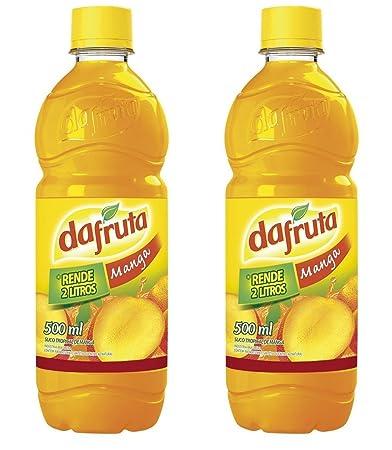 Dafruta Manga Juice Concentrate - 16 9 Fl oz   Suco Concentrado Dafruta  Sabor Manga - 500ml -